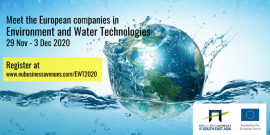 Image of (578836) Partner with European companies in Environment and Water Technologies