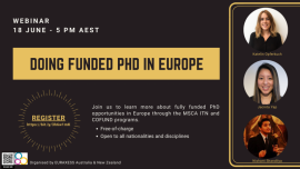 Image of (531159) Doing funded PhD in Europe