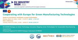 Image of (618380) Cooperating with Europe for Green Manufacturing Technologies