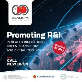 Image of (626429) SINO-MALTA Fund 2021 Joint Call for Project Proposals