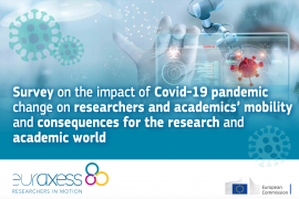 Image of (547253) HOT TOPIC: Covid-19 will have a huge impact on researcher mobility and the academic world – but how exactly?