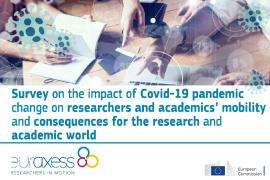 Image of (547954) HOT TOPIC: Covid-19 will have a huge impact on researcher mobility and the academic world – but how exactly?