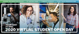 Virtual open student day