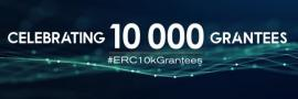 Celebrating 10000 ERC Grantees