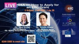 Image of (686599) Q&A: How to Apply for an ERC Grant