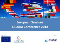 EU sessions at FAUBAI 2018