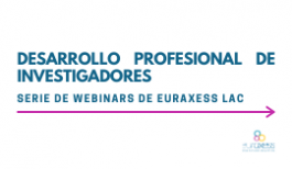 Image of (554898) Career development for researchers - EURAXESS LAC webinar series