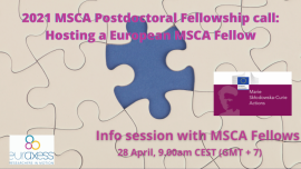 Image of (626512) 2021 MSCA Postdoc Fellowship Call - Hosting a European Fellow