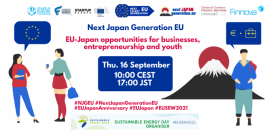 Image of (683470) Next Japan Generation EU EU-Japan opportunities for businesses,entrepreneurship and youth