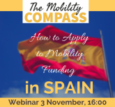 Image of (570801) The Mobility Compass: How to apply for Mobility Funding in SPAIN