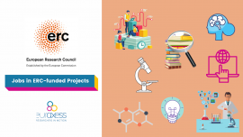 Jobs in ERC-funded projects