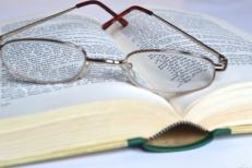 peer review - book and glasses